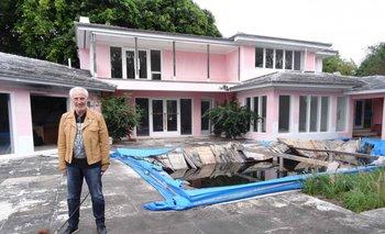 Christian de Berdouare, dueño de la mansión de Escobar en Miami.