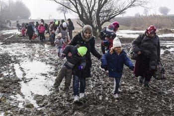Suecia es el país europeo que más refugiados recibió en 2015 en relación a su población.<br>
