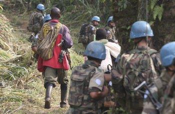 Hoy hay 1.193 soldados uruguayos desplegados en el Congo