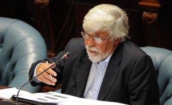 Eduardo Bonomi en el Parlamento