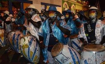 Cuareim 1080, ganadora del Desfile de Llamadas.<br>