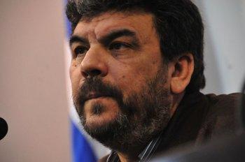 El director nacional de Policía, Mario Layera