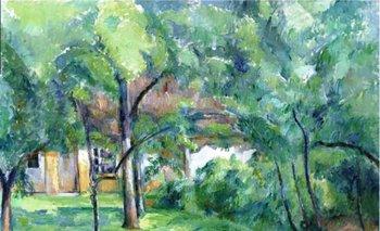 La obra Ferme en Normandie, été (Hattenville), del pintor Paul Cézanne