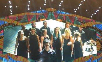Rapsodiam, el coro elegido por la banda británica, sobre el escenario con los Rolling Stones