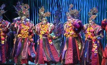 Los Patos Cabreros en el Teatro de Verano.<br>