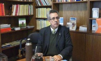 Vicente Plata, representante de FAO en Uruguay.<br>