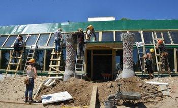 La construcción comenzó el 1ro de febrero
