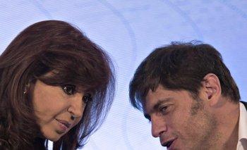 Cristina Fernández y Axel Kicillof, ahora sospechosos.