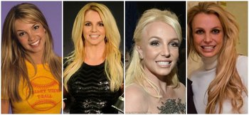 Britney Spears y los  cambios que experimentó su rostro.<br>