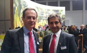 Xavier Roussel y Pedro de Lisa<br>