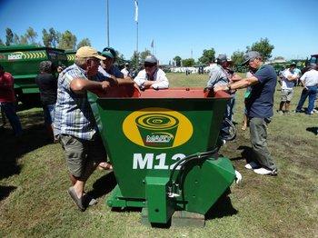 El mixer M12, una de las innovaciones presentadas en Santa Catalina.<br>