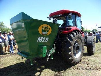 El mixer M15, también ideal para racionar en espacios reducidos.