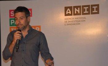 Federico Seineldin al exponer sobre Njambre, el holding de empresas sociales