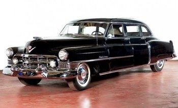 El vehículo estaba en una exposición en el Museo Evita, en Buenos Aires<br>