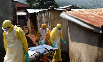 Atención a la emergencia del Ébola.<br>