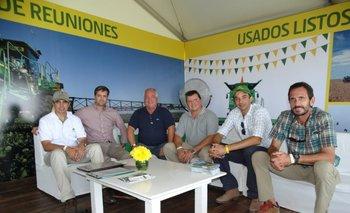 Miguel Quintano, Diego Bucci, Marcelo Cassola, Álvaro Venturini, Agustín López y Pablo Cattani.<br>