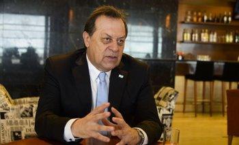 El ministro de Turismo de Argentina estuvo en Uruguay.<br>
