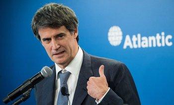 Ministro de Hacienda de Argentina Alfonso Prat Gay<br>