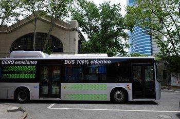 Uruguay cuenta hoy con 34 ómnibus eléctricos que circulan por las calles de los departamentos de Montevideo y Canelones.