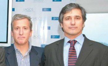 Damiani junto a Marcelo Ramos, el titular de Helvetic, en sociales de la revista Paula