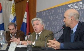 Aguerre presentó programa de apoyo al rubro ovino y habló del etión<br>