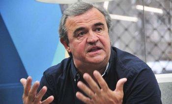 """""""¿Qué quiere que le diga? Contento no estoy"""", dijo Jorge Larrañaga sobre los resultados electorales.  I. Guimaraens"""