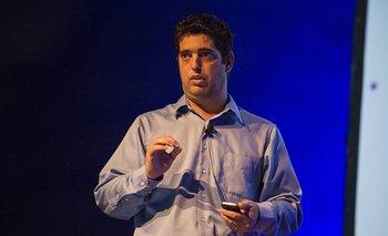 El co-fundador de Qoollet, Andrés Levin.