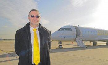 El gerente general de Amaszonas Uruguay, Carlos Pera.