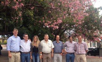 Los directivos de Caapas desarrollaron su reunión anual en Mercedes.