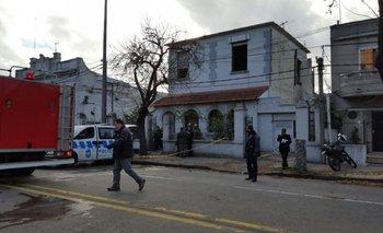 Siete personas murieron en el incendio que consumió una casa de ancianos ubicada en Millán y Cisplatina<br>