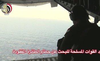 Autoridades egipcias y francesas continúan la búsqueda de restos