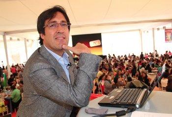 Pablo Aristizabal, docente y fundador de Aula365