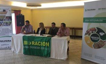 Integrantes de Bioración y del escritorio Silveira en la conferencia