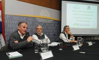 La presentación del libro se realizó en la sede del MGAP.<br>