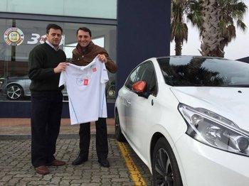 Carlos Clavero y Pablo Viera<br>