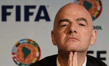 Gianni Infantino, presidente de la FIFA, puede sancionar a la AFA