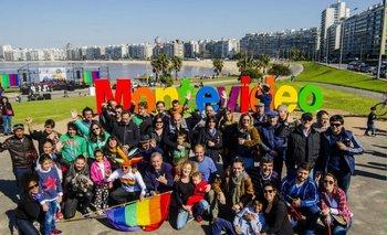 Acción durante el mes de la diversidad 2015.