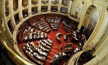 La Rendición de Cuentas llegó al Parlamento. C. Pazos