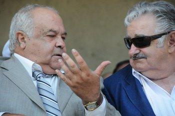 Huidobro y Mujica en 2012