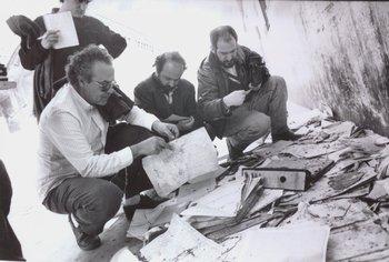 Recorrida de El Observador por la cárcel de Punta Carretas con Eleuterio Fernández Huidobro antes que se demoliera, en 1991