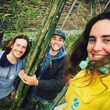 José Burlando, Gabriel Arenares y Analaura Antúnez