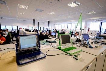 Ceibal emplea a unas 300 personas que trabajan desde el parque tecnológico del Latu