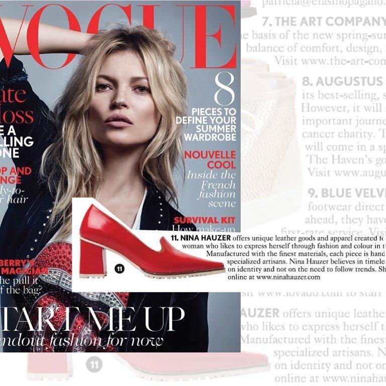 En Vogue La A Hechos Zapatos Llegaron Revista Uruguay Que Los xrdBWEQoeC