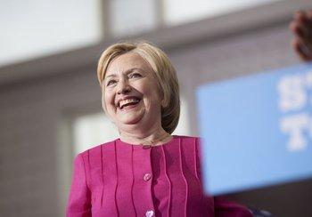 Hillary Clinton, esta semana en Filadelfia durante un evento de registro de votantes