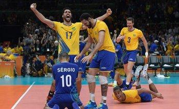 Locura brasileña en el vóleibol