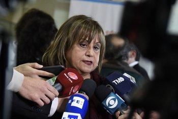 La directora general de Primaria, Irupé Buzzetti