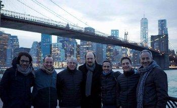 Parte del equipo de la agencia Notable y la productora Metrópolis Film<br>