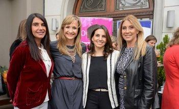 Guillermina Cabrera, Laura Raffo, Isabelle Chaquiriand y Elena Tejeira