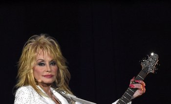 Dolly Parton en su gira con Pure & Simple por Nashville.