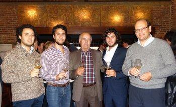 Manuel, Juan Pablo, Juan, Luis Bouza y Eduardo Boido
